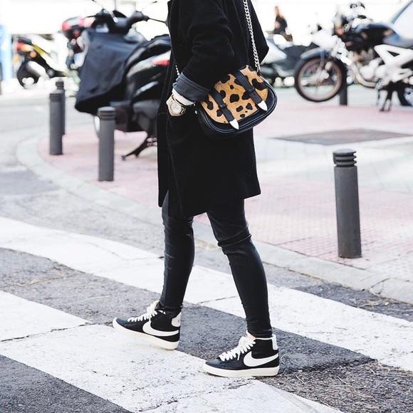 d80d9834a5 Nike Shoes | Black Suede Blazer Mid Sneakers | Poshmark